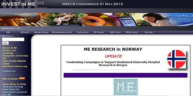 Invest in ME_statusoppdatering om fundrising Rtx studie 1 april 2013