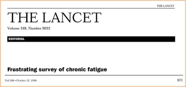 Historisk tilbakeblikk fra tidsskriftet The Lancet ano 12 oktober 1996